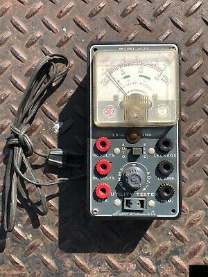 Vintage Superior Instruments ~ Model 70 ~ utility tester - No Leads - UNTESTED