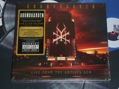 Soundgarden - Live From The Artists Den 2Cd Mint/Sealed + Free Uk P&P
