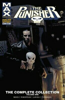 The Punisher Max The Complete Collection Vol. 1 Trade Paperback Comic Book #1