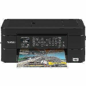 Brother All in One Color Inkjet Printer USB Smart Wireless Printing Compact NEW