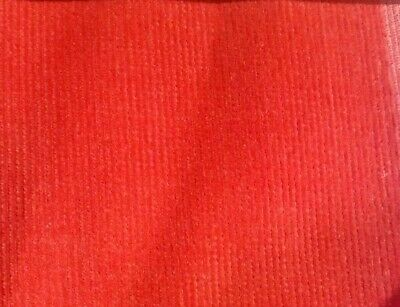 """2 colours Baby//needle corduory fabric one way stretch £5.95//m 1.40m//55/"""" wide"""