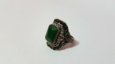 Extremely Rare Ancient Roman Ring Bronze Old Artifact Museum Quality