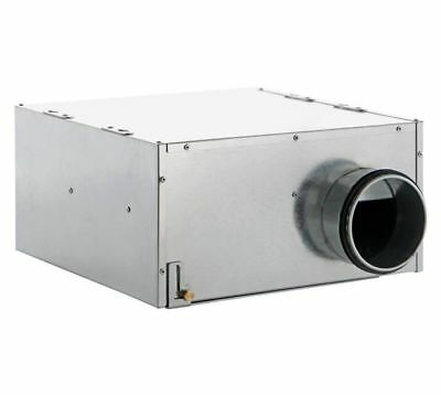 Radial Pipe Fan vortice Ca Il In-Line IP44 Air Performance to 830 M³/H