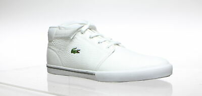 cf1b059ee1745 NEW MEN'S LACOSTE Ampthill SIZE 10.5 LCR3 Leather Sneaker 7 ...