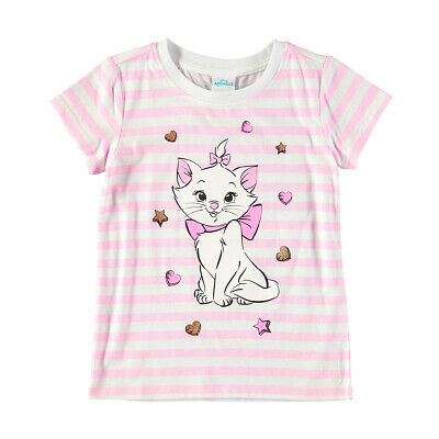 Disney Aristocats Marie Girls tee t shirt top New with tags Free postage