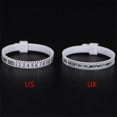 Ring sizer UK/US Official Finger Measure Gauge Men and Womens Sizes A-Z New uk
