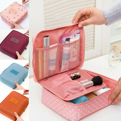 Women Cosmetic Make Up Travel Toiletry Bag Pouch Organizer Handbag Case Storag