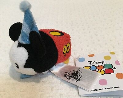Disney Parks Mini Tsum Tsum Plush Mickey Mouse 90th Anniversary Mickey Mouse