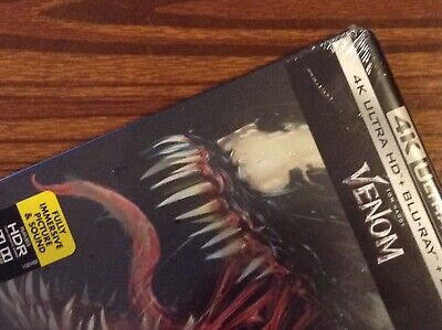 VENOM  4K UltraHD  Limited Steelbook Edition [ USA ]