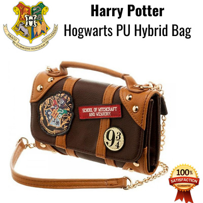 Harry Potter PU Hogwarts Wallet Zip Letter New Clutch Apparel Hybrid Purse Flap