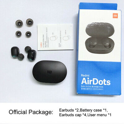 Xiaomi Redmi TWS Airdots Headset BT 5.0 Earphone Headphone Stereo Earbuds LOT