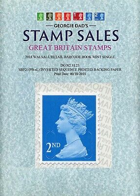 00/10/2018 2nd Class Book Single M18L MTIL SBP2i PB-sL Inverted Printed Sequence