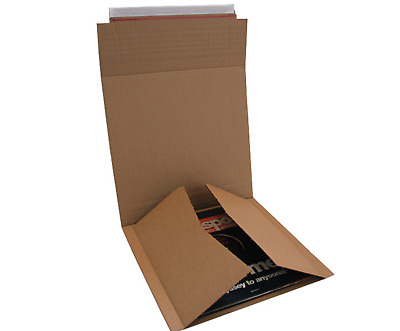 10 12″ Lp New C LP Postal Mailers Vinyl Record LP Packaging Box Holds 1-6 Lp's