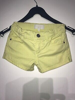"""Gucci Girls Lime Green Shorts Age 4 W10.5"""""""