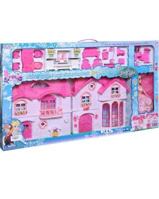 Barbie 2-Story House With Furniture,Accessories Plus 1 Barbies fashionistas