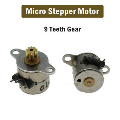 Mini Micro Small 2-phase 4-wire stepper motor with copper gear
