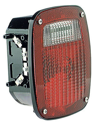 Grote Torsion Mount, Three-Stud, GMC Replacement Lamp - Red, LH (50912)