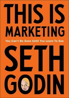 This Is Marketing Godin Seth Paperback / Softback NEW