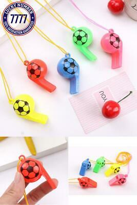 10 Pcs/Set Cute Mini Soccer Football Party Favors Whistles Sports Birthday Party