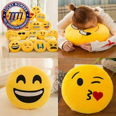 32Cm Stuffed Toys Soft Smiley Emoticon Stuffed Plush Toy Doll Pillow Case Cover