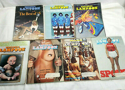 National Lampoon Magazine Lot 199Th Birthday 1976 Secret Issue Best Of Book 1973