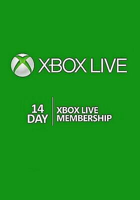 XBOX Live GOLD 14 Day Global