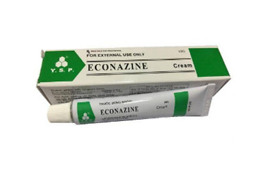 ECONAZINE Cream for Skin Allergies, Fungal Infection, Ringworm 1 X 20g SG