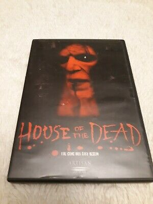 House of the Dead (DVD Only, 2004) No Digital copy or codes