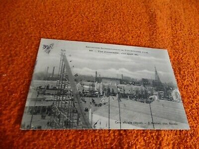carte postale - tourcoing 1906,exposition internationale