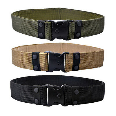 Adjustable Heavy Duty Combat Waistband Survival Men Army Military Tactical Belts