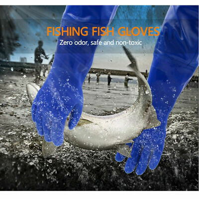 Waterproof Garden Pond Long Gloves PVC Glove Extended ARM Length Cleaning Gloves