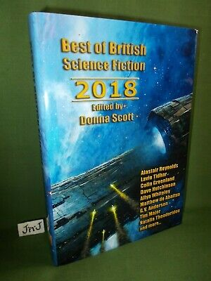 The Best Of British Science Fiction 2018  Ltd Ed Hb (#20)  New & Unread 2019