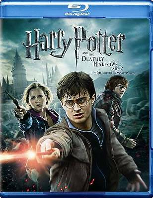 Harry Potter and the Deathly Hallows: Part II (Blu-ray/DVD, 2011, 3-Disc Set)