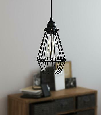 Plug In Hanging Lamps Swag Pendant Ceiling Light Shade