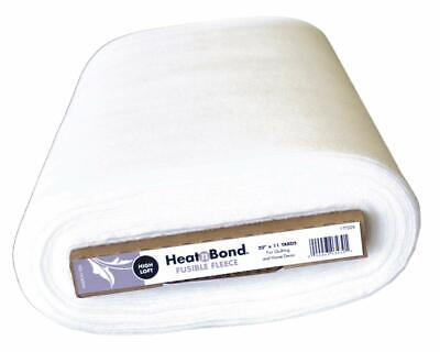 Heat n Bond 20-inch x 11 yd Extra High Loft Fleece Fusible, White FREE DELIVERY