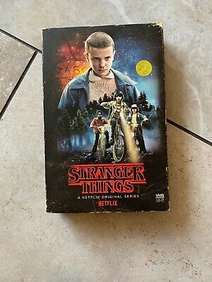 NEW! Stranger Things -Season 1 Target Edition (2 Blu-Ray/2 DVD & poster) VHS box