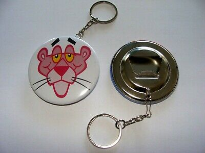 Porte Cle  Decapsuleur  Pink Panthere