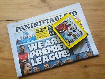 Panini Tabloid 2019 - 28 Unopened Packs Packets Stickers. Premier league 18/19