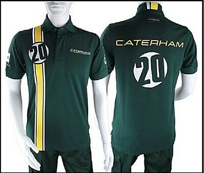 POLO Poloshirt Adult Formula One 1 Caterham F1 Team NEW! Heikki Kovalainen