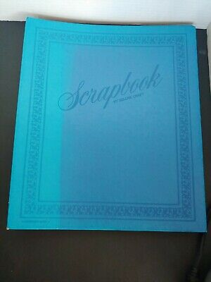 Vintage Scrapbook Photo Album Book by Deluxe Craft