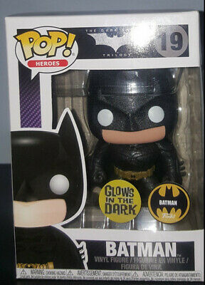 Glows in the Dark The Dark Knight Batman Pop Vinyl Figure Funko Custom Exclusive