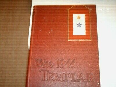 1944 THE TEMPLAR Temple University Yearbook Philadelphia PA