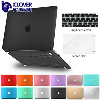 For Macbook Air 13 inch Matte Hard Case Shell 2016-2019+Keyboard Skin+LCD Film