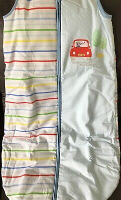 🚗 Mothercare On The Road 6-18 Months 2.5 Tog Snoozie Sleep / Sleeping Bag 🚗🚙