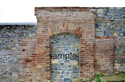 #   9 SHEETS EMBOSSED BUMPY stone yorkshire wall 21x29cm  SCALE 1//24 CODE V99I