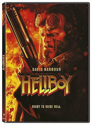 Hellboy DVD 2019 - David Harbour *** New Sealed & Ready To Post ***