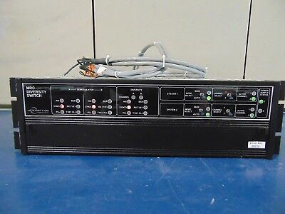 Microwave Radio Communications MRC Diversity Switch Power Supply Included  RH70x