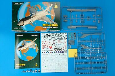 """EDUARD 11135 MiG-21bis """"AROUND THE WORLD"""" in 1:48 LIMITED EDITION!!"""