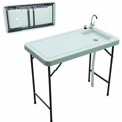 Tricam Mt 2 Outdoor Fish And Game Cleaning Table With Quick