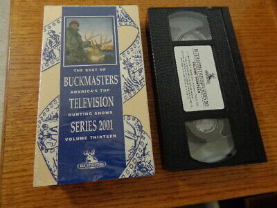 THE BEST OF Buckmasters Vol  6 VHS Series 1994 - $3 50